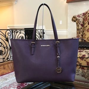 Michael kors Jet Set Travel LG MF Carryall Handbag